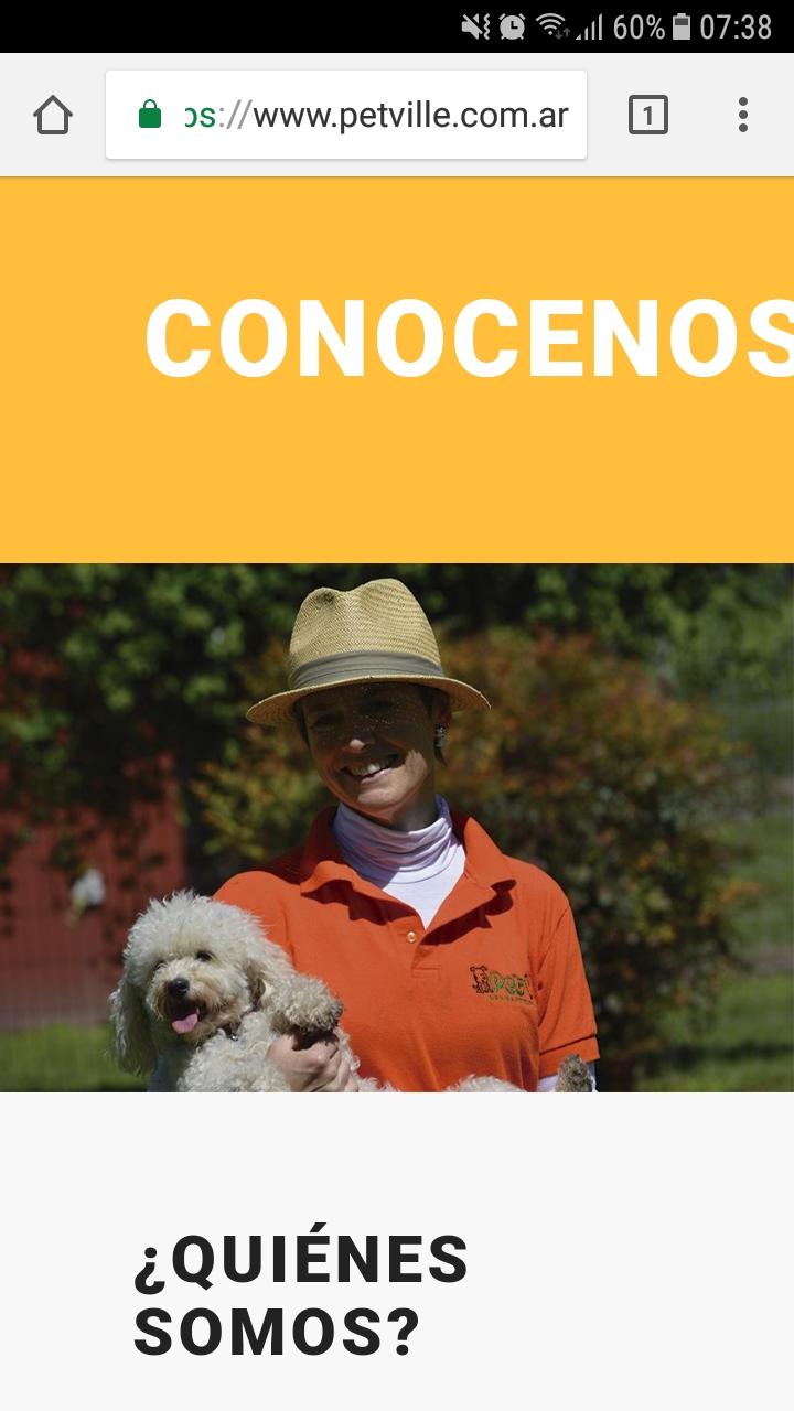 Conocenos Title